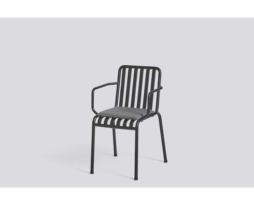 HAY - Sitzkissen für Palissade Chair und Arm Chair - anthrazit  - 1
