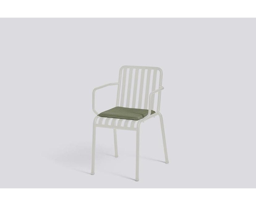HAY - Sitzkissen für Palissade Chair und Arm Chair - olive - 3