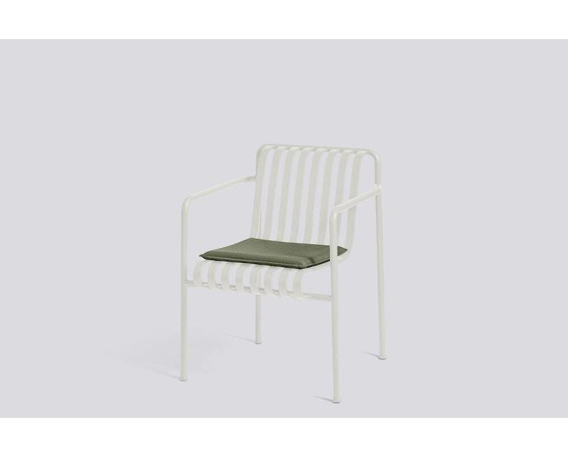 HAY - Sitzkissen für Palissade Dining Arm Chair - olive - 2