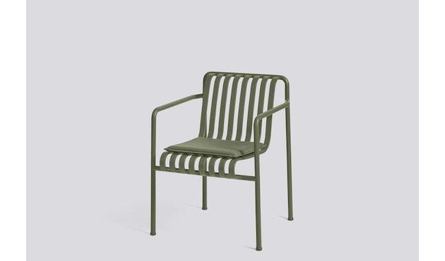 HAY - Sitzkissen für Palissade Dining Arm Chair - olive - 4