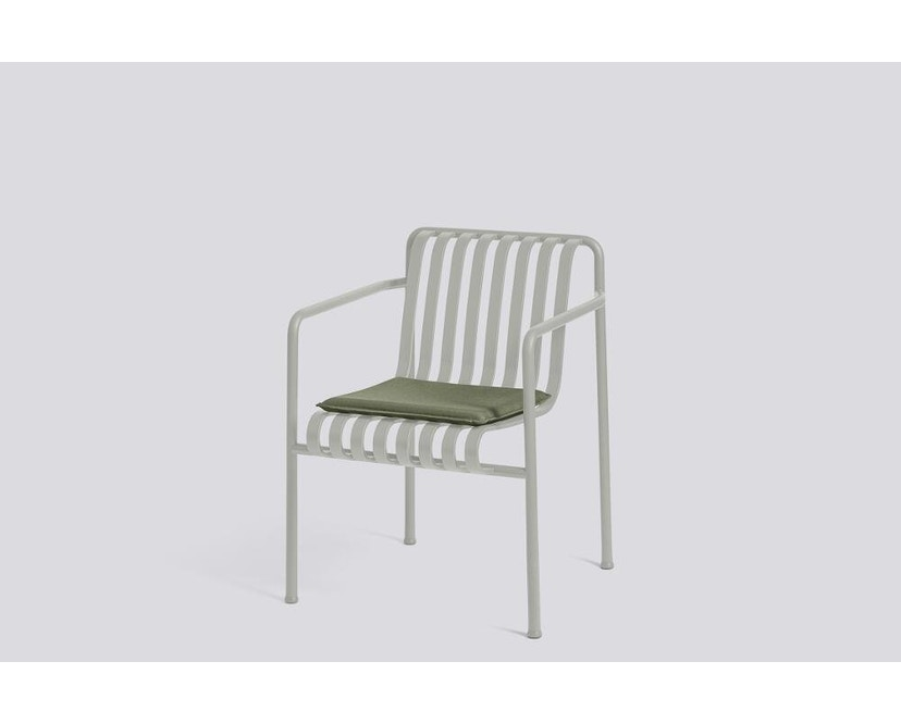 HAY - Sitzkissen für Palissade Dining Arm Chair - olive - 5