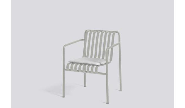 HAY - Zitkussen voor Palissade Dining Arm Chair - grijs - 2