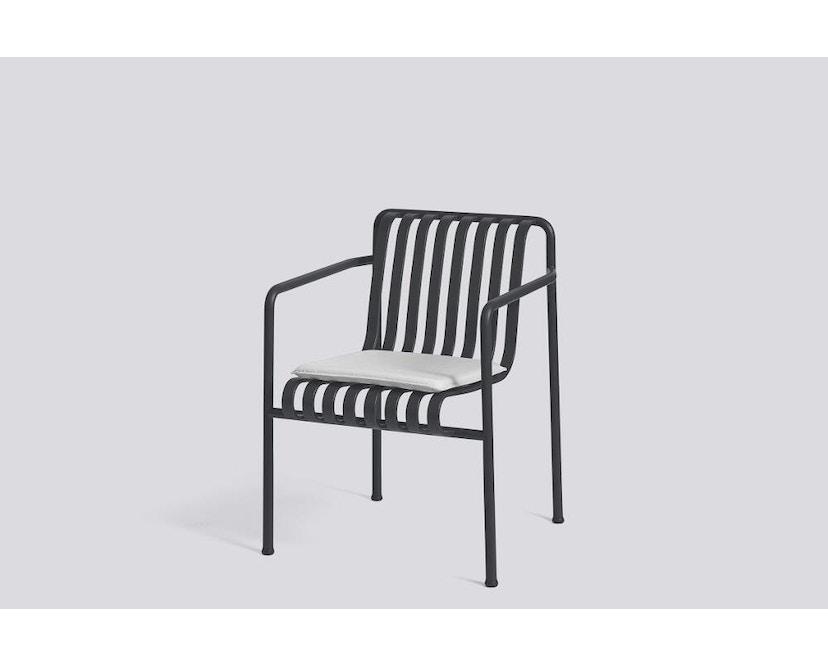 HAY - Zitkussen voor Palissade Dining Arm Chair - grijs - 3