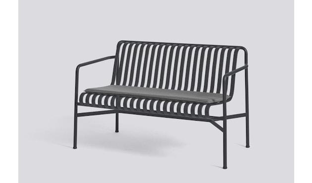 Sitzkissen für Palissade Dining Bench - anthrazit von HAY