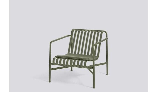 HAY - Sitzkissen für Palissade Lounge Chair Low und High - olive - 2