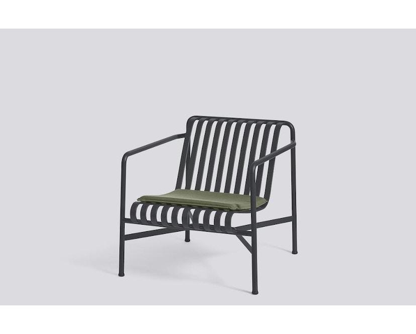 HAY - Sitzkissen für Palissade Lounge Chair Low und High - olive - 3