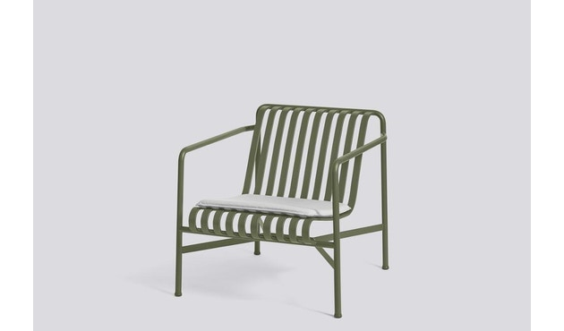 HAY - Sitzkissen für Palissade Lounge Chair Low und High - sky grey - 3