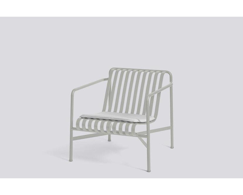 HAY - Sitzkissen für Palissade Lounge Chair Low und High - sky grey - 4