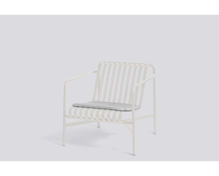 HAY - Sitzkissen für Palissade Lounge Chair Low und High - sky grey - 5