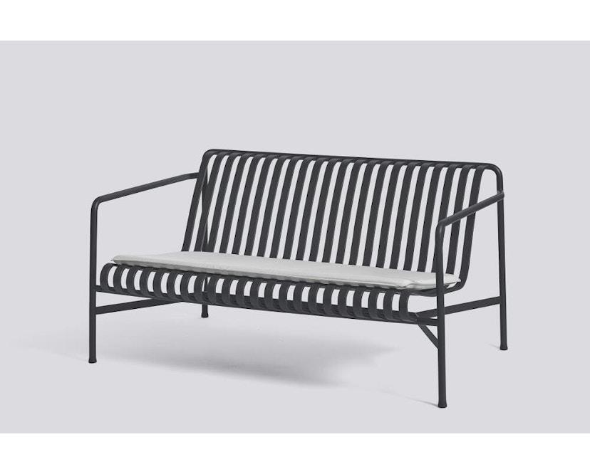 HAY - Sitzkissen für Palissade Lounge Sofa - sky grey - 3