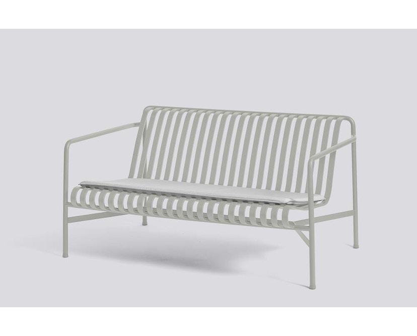 HAY - Sitzkissen für Palissade Lounge Sofa - sky grey - 5