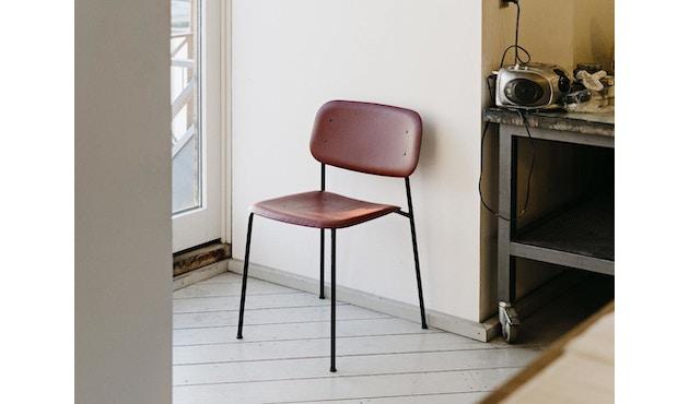 HAY - Soft Edge 10 Stuhl - Eiche herbstrot gebeizt - Gestell schwarz - 2
