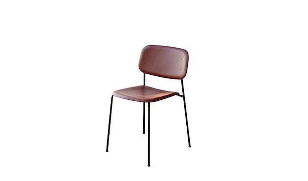 HAY - Soft Edge 10 Stuhl - Eiche herbstrot gebeizt - Gestell schwarz - 0