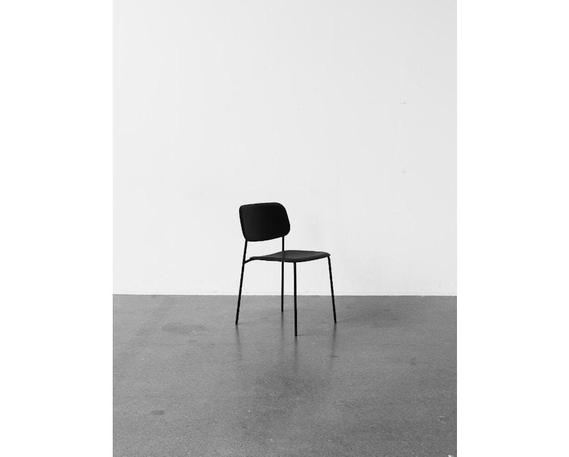 HAY - Soft Edge 10 Stuhl - Eiche matt lackiert - Gestell schwarz - 4