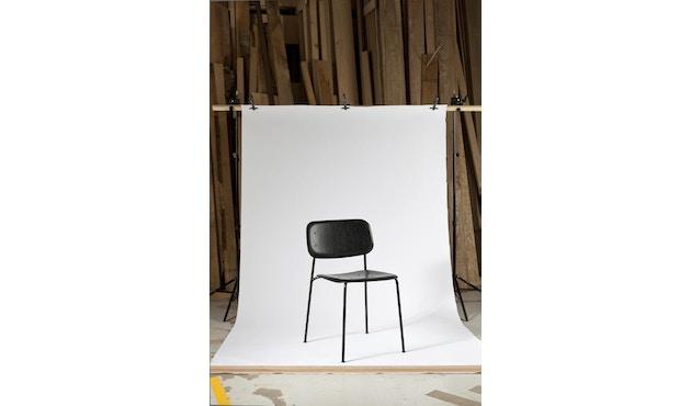 HAY - Soft Edge 10 Stuhl - Eiche nebelgrün gebeizt - Gestell schwarz - 4