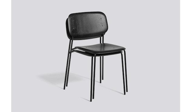 HAY - Soft Edge 10 stoel - zwart - zwart gebeitst - 3
