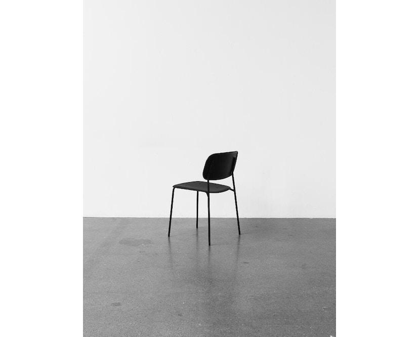 HAY - Soft Edge 10 stoel - zwart - zwart gebeitst - 4