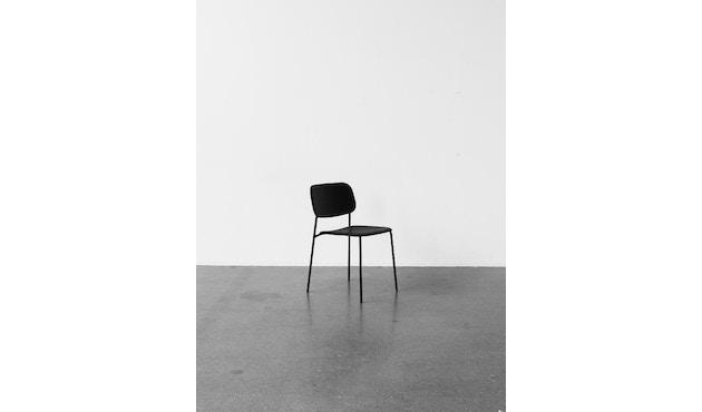 HAY - Soft Edge 10 stoel - zwart - zwart gebeitst - 5