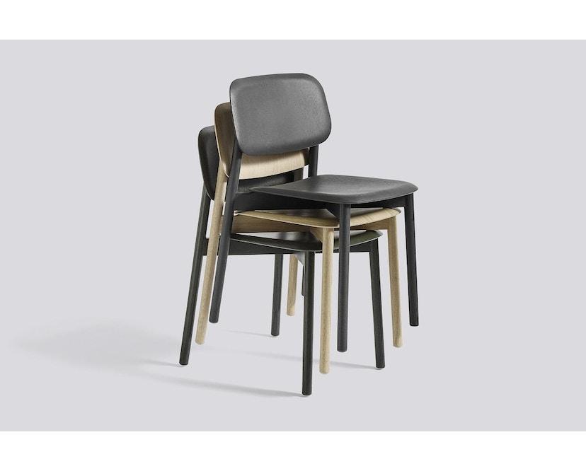 HAY - Soft Edge 12 Stuhl - Eiche klar lackiert - 3