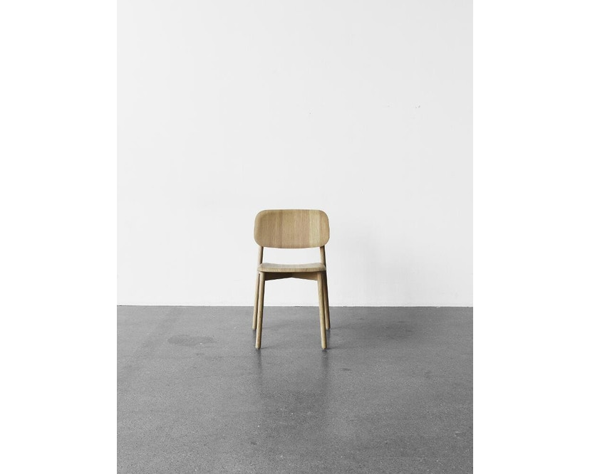 HAY - Soft Edge 12 Stuhl - Eiche klar lackiert - 7