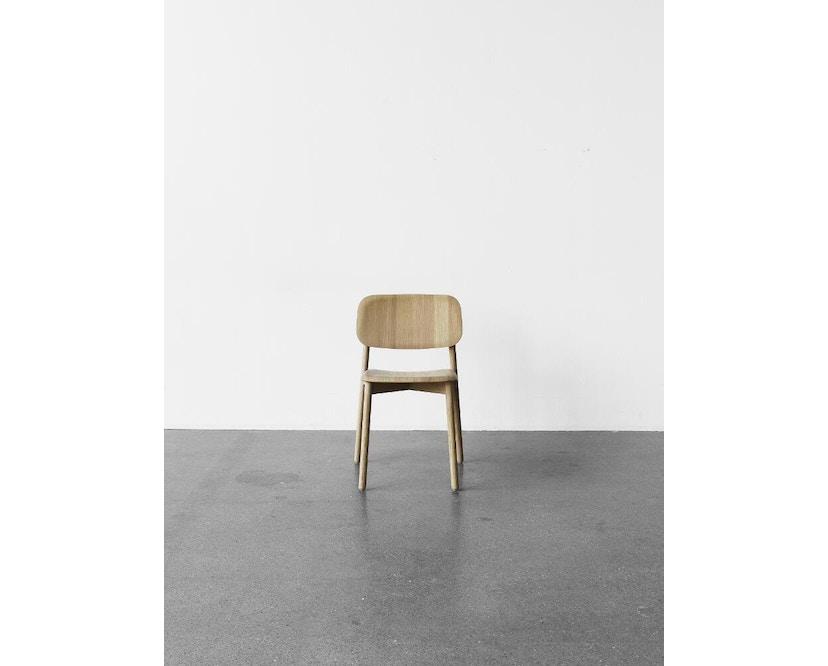 HAY - Soft Edge 12 Stuhl - Eiche schwarz gebeizt - 6