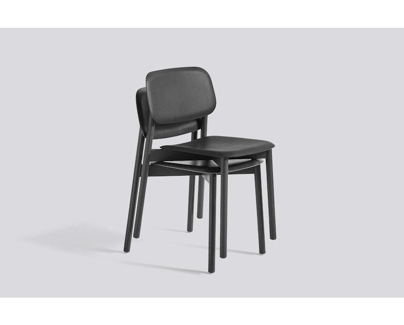 HAY - Soft Edge 12 Stuhl - Eiche schwarz gebeizt - 1
