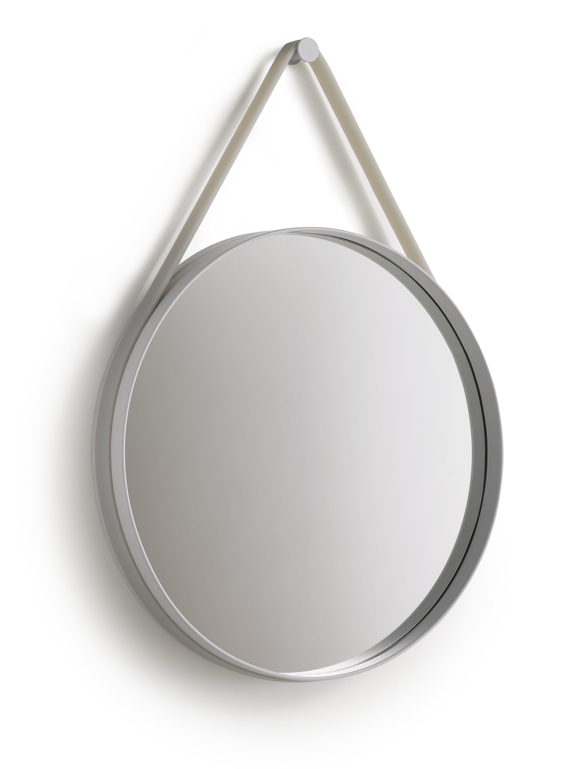 HAY - Spiegel Strap - grijs - Ø 70 cm - 3