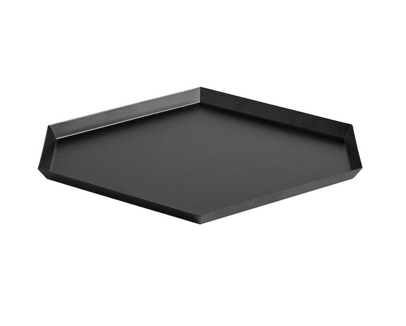 HAY - Plateau Kaleido - L (39 x 34 cm) - noir - 1