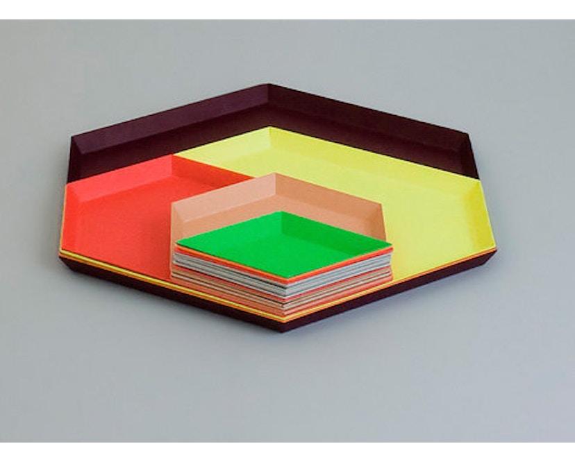 HAY - Tablett Kaleido S - black - 6