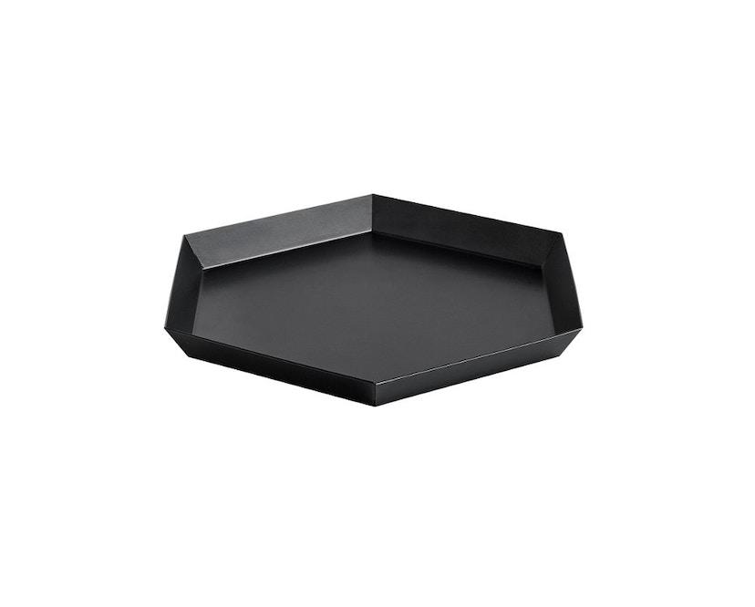 HAY - Tablett Kaleido S - black - 0
