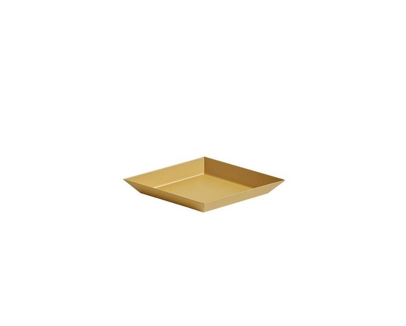 HAY - Tablett Kaleido L - schwarz - XS (19 x 11 cm) - barnsteen - 1