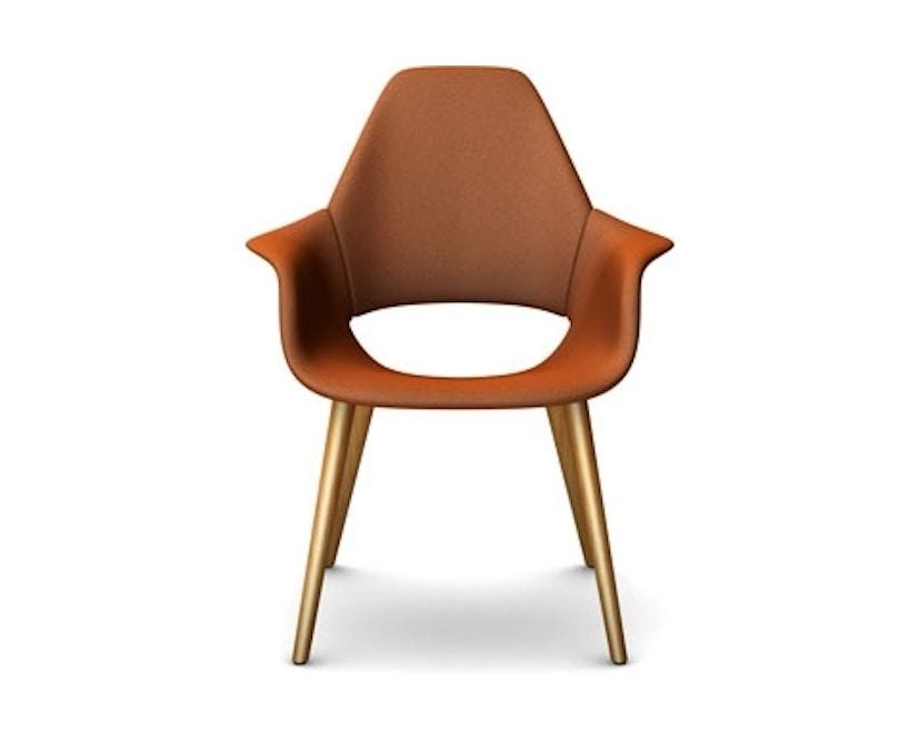 Vitra - Organic Chair Fauteuil - Eiken natuur - Hopsak - cognac - 2