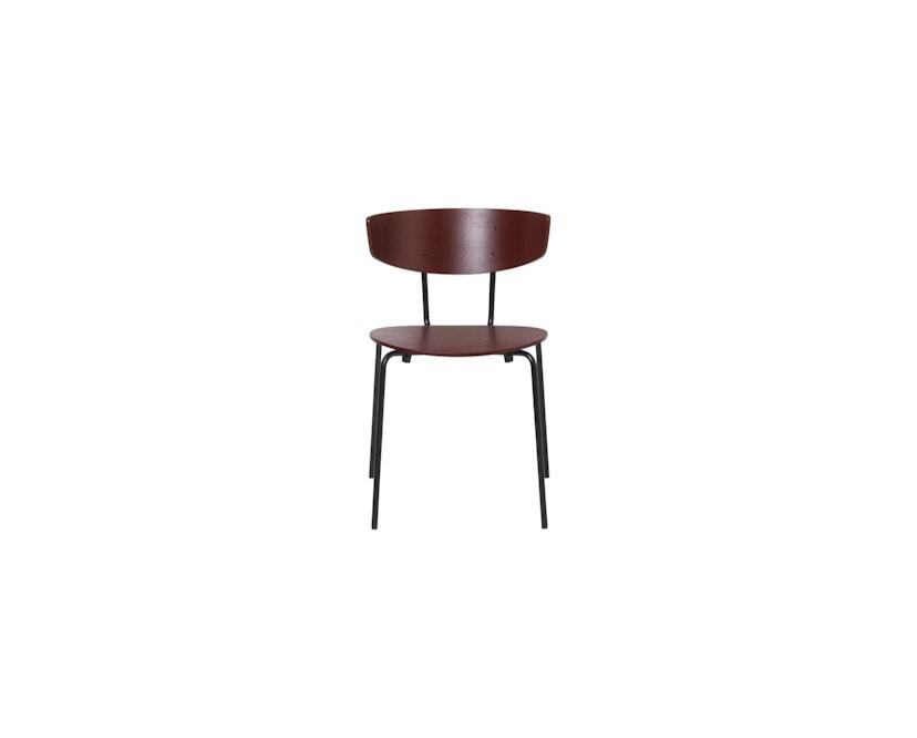 ferm LIVING - Herman stoel - roze/ roest - 2