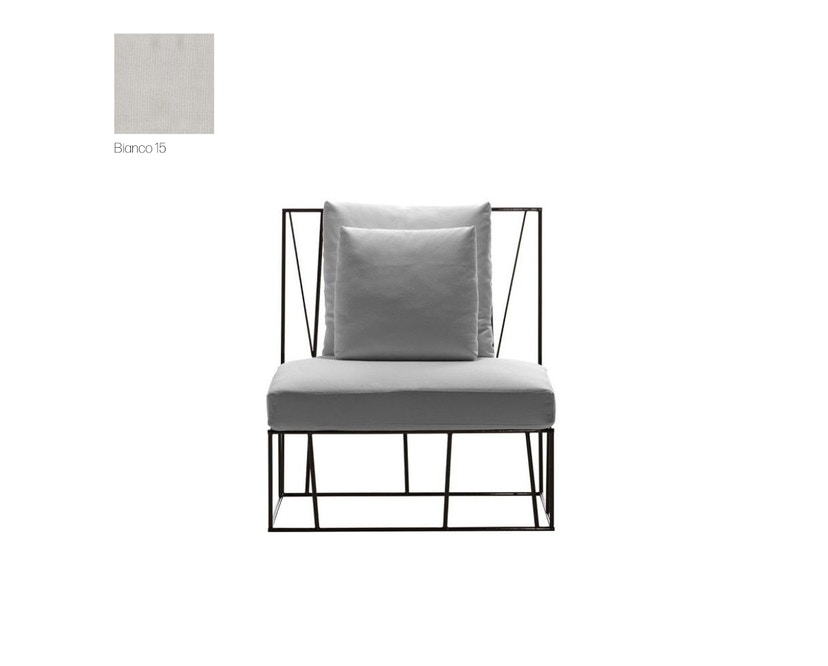 Driade - Hervé Outdoor Sessel - Cipro Bianco 15 - 0