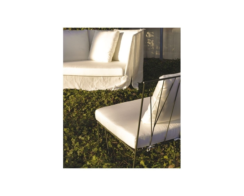 Driade - Hervé Outdoor Sessel - Cipro Bianco 15 - 2