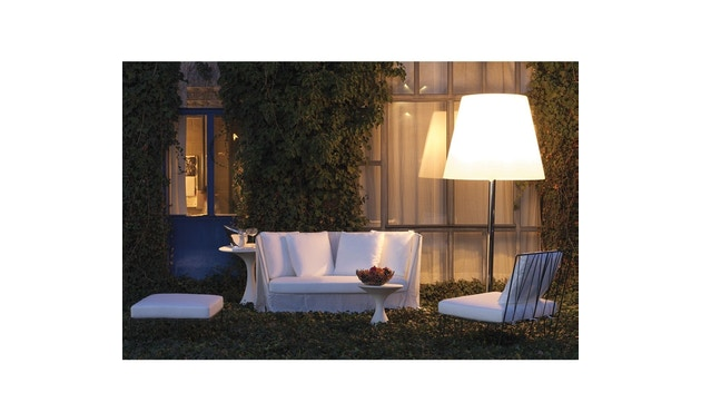 Driade - Hervé Outdoor 2 Sitzer Sofa - Cipro Bianco 15 - 3