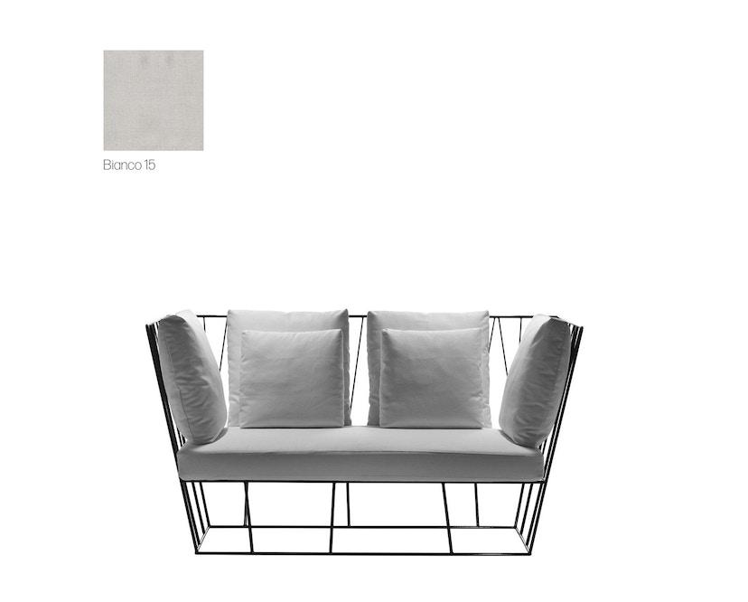 Driade - Hervé Outdoor 2 Sitzer Sofa - Cipro Bianco 15 - 2