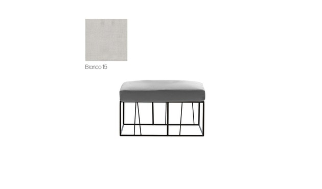 Driade - Hervé Outdoor Sitzhocker - Cipro Bianco 15 - 1