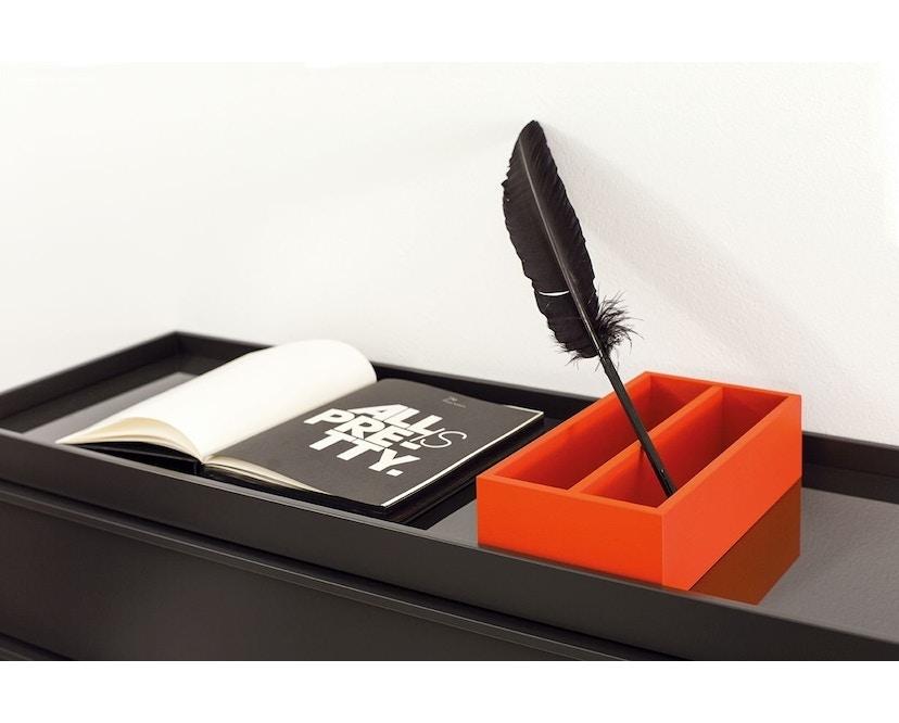 Schönbuch - Hesperide Box - rechthoekig - twee vakken - 16 Notenhout natuur geolied - 3