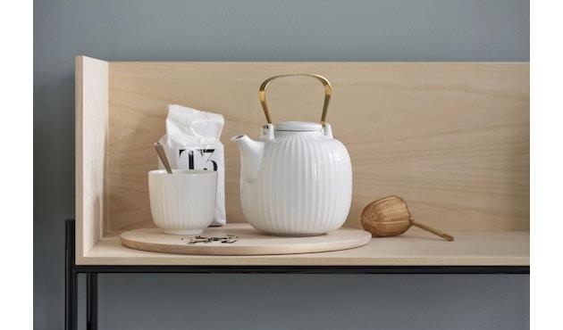 Kähler Design -  Hammershøi Teekanne - weiß - 18