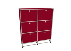 USM Haller - Highboard M - 6 battants - 2