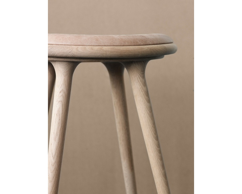 Mater - Highstool Barhocker - 74 cm - Eiche grau - 4