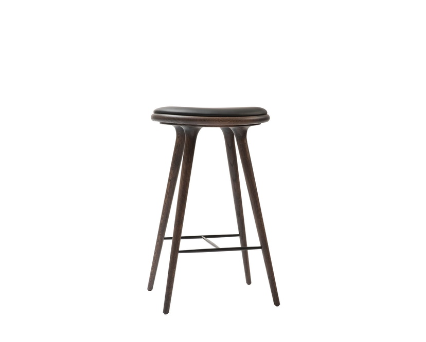 Mater - Highstool Barhocker - 74 cm - Eiche grau - 1