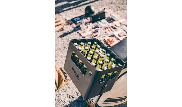 Höfats - BEER BOX Bierkiste / Feuerkorb / Grill / Hocker / Beistelltisch - 5