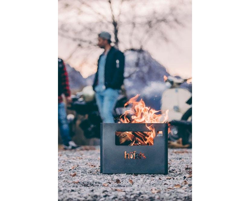 Höfats - BEER BOX Bierkiste / Feuerkorb / Grill / Hocker / Beistelltisch - 14