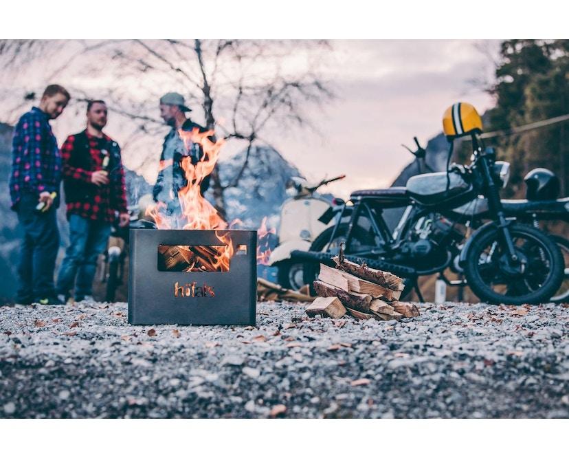Höfats - BEER BOX Bierkiste / Feuerkorb / Grill / Hocker / Beistelltisch - 12
