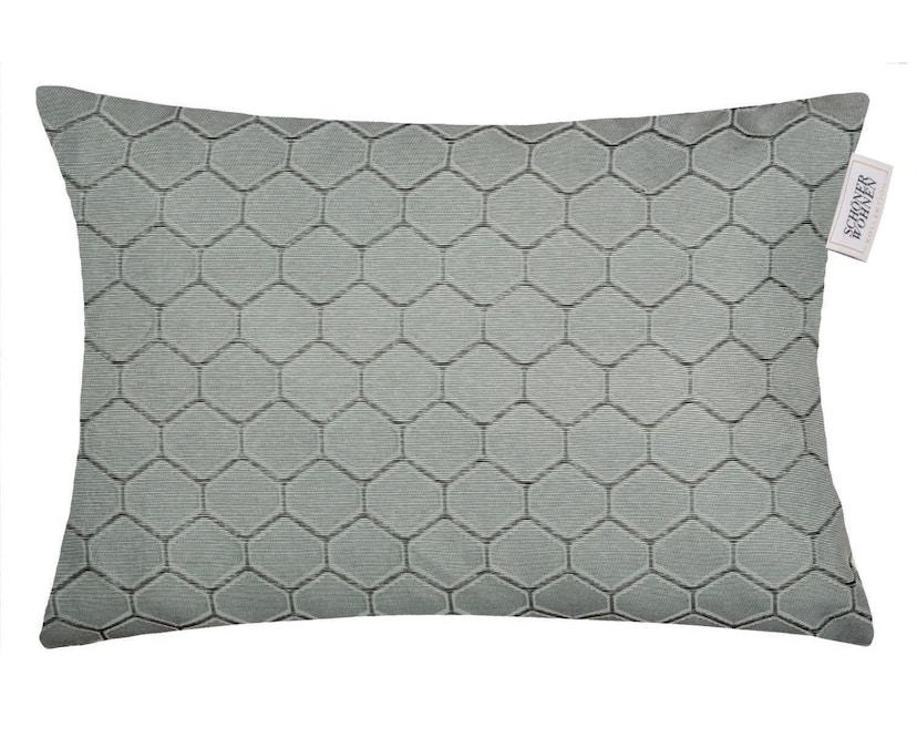 SCHÖNER WOHNEN-Kollektion - Honeycomb Zierkissenhülle - mint - 1