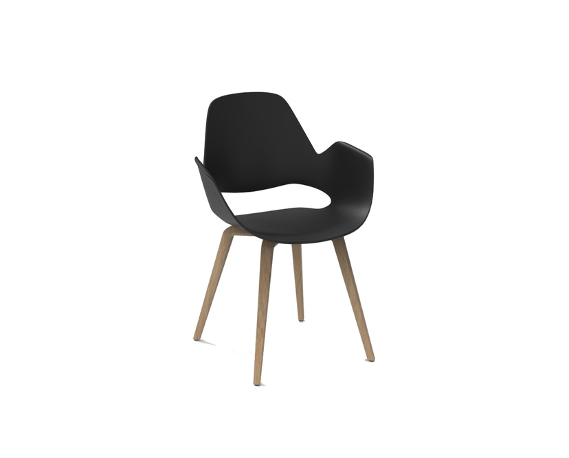 Houe - Falk Stuhl Holzgestell - Black - ohne Sitzkissen - 1