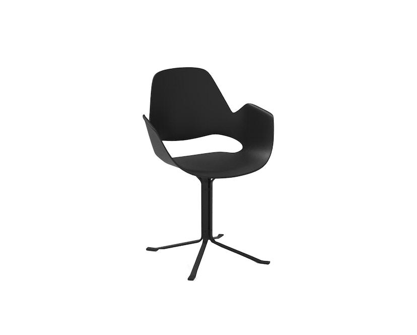 Houe - Falk Stuhl Sterngestell - Black - ohne Sitzkissen - 1
