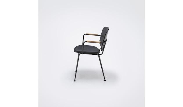 Houe - Grapp Dining Stuhl mit Armlehne - Lederpolster schwarz - 3